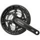 Shimano Trekking FC-T521 Octalink Vevparti 3x10-växlad 48-36-26 Tänder svart